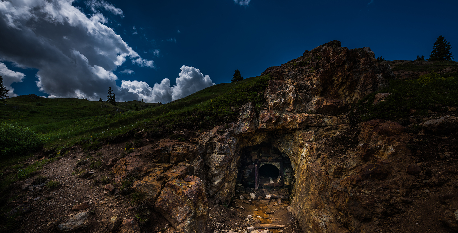 Gold Mine Entrance